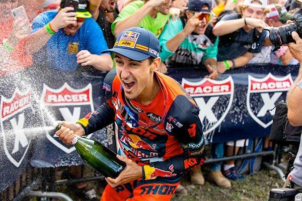 Red Bull KTM Factory Racing Team motocross rider Marvin Musquin