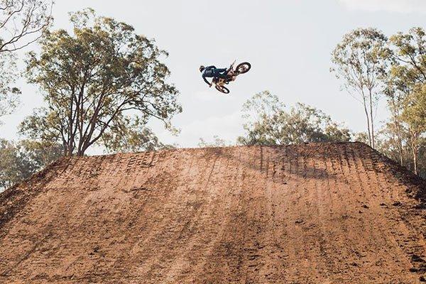 Australian motocross champion Todd Waters at Motoland Queensland