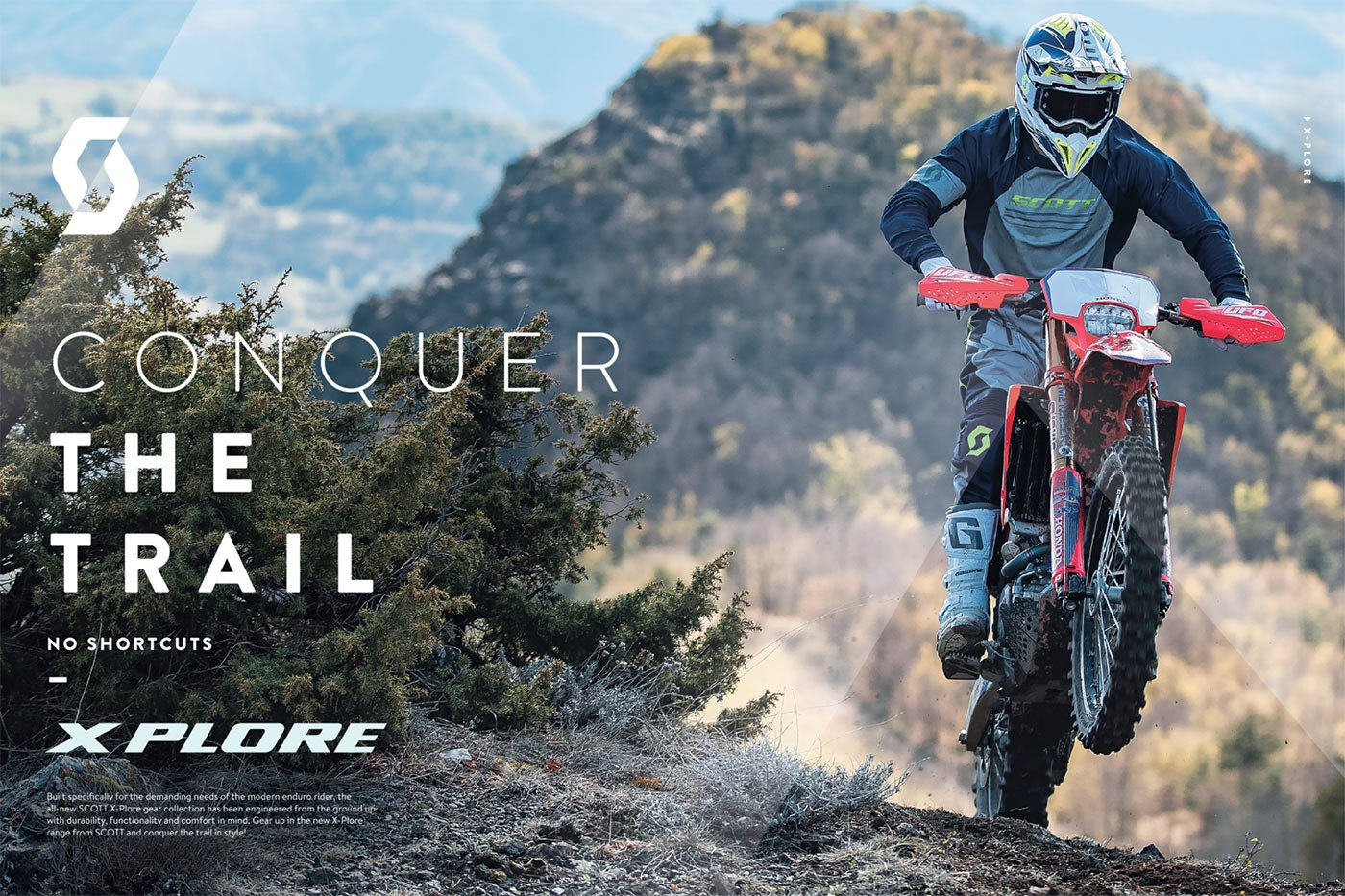 SCOTT Sports has launched its brand new enduro-focused X-Plore collection