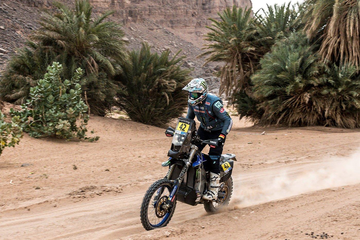 Adrien Van Beveren at the The Rally 2021 du Maroc