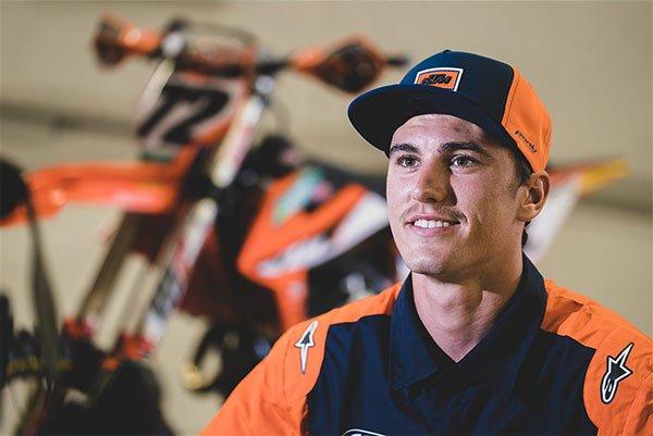 West Australian motocross rider Regan Duffy
