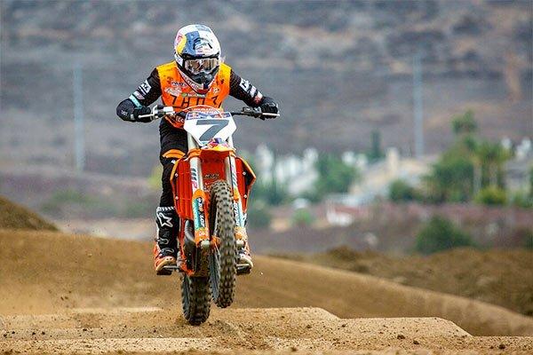 Red Bull KTM Factory Racing Motocross Supercross rider Aaron Plessinger