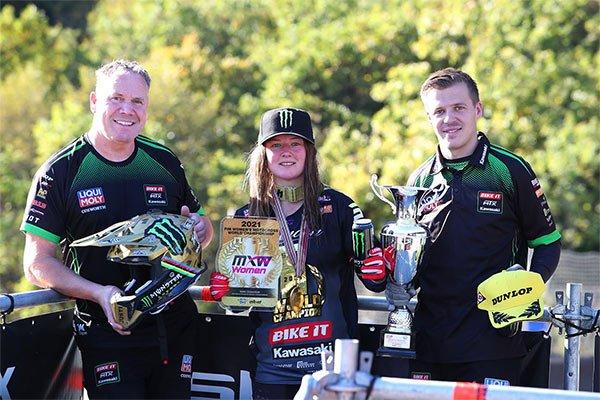2021 FIM Women's Motocross World Champion Courtney Duncan