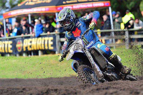 CDR Yamaha motocross rider Luke Clout