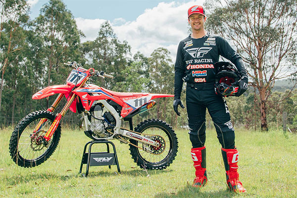 Australian Motocross Champion Dean Ferris